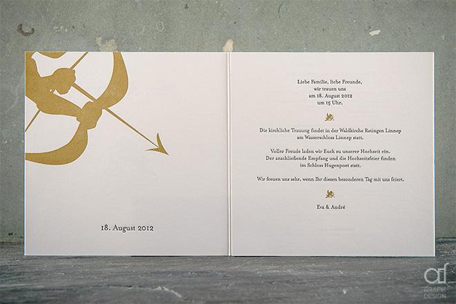 Eva Und André | Standesamtliche Und Kirchliche Trauung « Angelika,  Einladungsentwurf